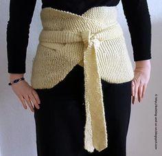 Japanese Garter Stitch Haramaki