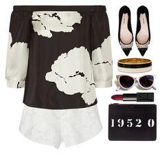 """Style  #489"" by simona-altobelli ❤ liked on Polyvore featuring Rebecca Minkoff, TIBI, Miu Miu, Givenchy, Kate Spade, NARS Cosmetics, women's clothing, women, female and woman"