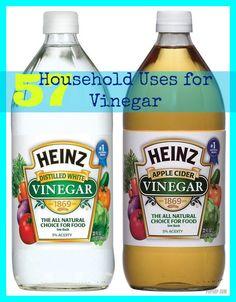 57 Household Uses for #Vinegar