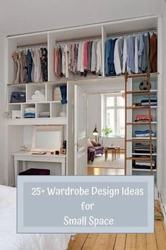 25+ Wardrobe Design Ideas for Small Space #WardrobeDesignIdeasforSmallSpaceBedroom #WardrobeDesignIdeasforSmallSpaceCloset #WardrobeDesignIdeasforSmallSpaceTinyHouse #WardrobeDesignIdeasforSmallSpaceExtraStorage #WardrobeDesignIdeasforSmallSpaceClothes