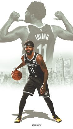 Irving Wallpapers, Nba Wallpapers, Mvp Basketball, Basketball Leagues, Kyrie Irving Brooklyn Nets, Kyrie Irving Celtics, Nba Pictures, Sports Graphic Design, Nba Sports