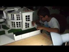 MAKET EV YAPIMI VİDEO - YouTube