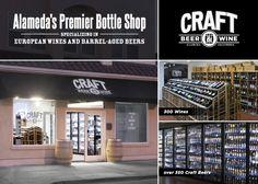 """Best New Business Mash-Up"" CRAFT Beer & Wine (2526 Santa Clara Ave)... voted Best of Alameda 2014 via Alameda Magazine"
