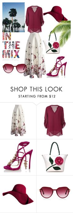 """""""Fashion"""" by jasmina-ishak ❤ liked on Polyvore featuring Chicwish, Dsquared2 and Oliver Peoples"""