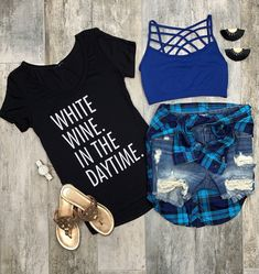 In the Daytime. Bar Outfits, Cute Girl Outfits, Simple Outfits, Casual Outfits, Fashion Outfits, Casual Clothes, Teen Fashion, Fashion Tips, Country Style Outfits