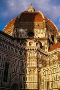 That's The Basilica di Santa Maria del Fiore, or 'The Duomo' as it's known, in Florence, Italy. Structure was designed by Cambio and the dome by Brunelleschi.