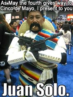 Stereotypes and twisted humor - ethnic funnies with geekery