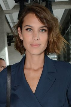 Stepping out at London Fashion Week, Alexa Chung unveiled her new, super-short bob, and we think it looks beaut. Her waves tresses, complete with the choppy cut, give the usually slick style a seriously cool lease of life. Nice work, Alexa...