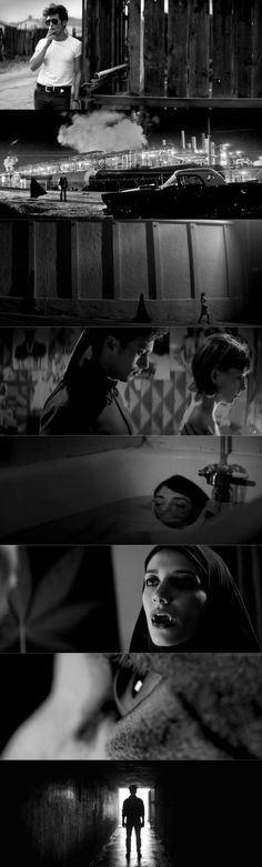 A Girl Walks Home Alone at Night (2014), d. Ana Lily Amirpour, d.p. Lyle Vincent #Cinematography