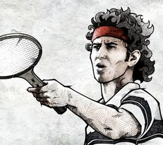 Outstanding Photoshop Treated Sports Illustrations