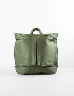 Khaki Green Tanker 2Way Helmet Bag 5b72d98604d66