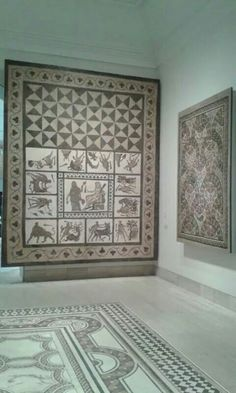 #Mosaicos. Museo Arqueológico Nacional #MAN #Madrid