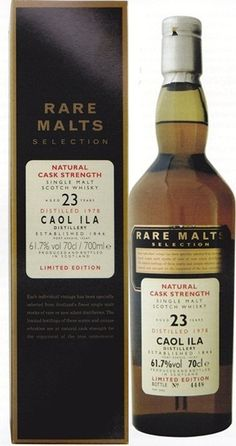 Caol Ila Rare Malts Selection Single Malt Scotch Whisky