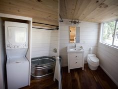 Bathroom - Custom Gooseneck by Nomad Tiny Homes