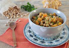 Un primo piatto gustoso e squisito: la Zuppa di ceci e zucca, calda e confortante, proprio quello che ci vuole in queste fredde giornate invernali
