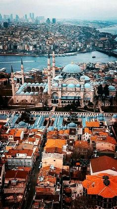 Beautiful masjid in Turkey Istanbul City, Istanbul Travel, Places To Travel, Places To Go, Visit Turkey, Visit Amsterdam, City Wallpaper, Turkey Travel, Beautiful Places To Visit