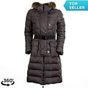 Moncler Salsifis Womens Jacket, Charcoal, medium