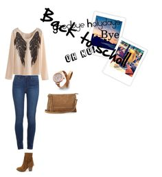 """Back to school"" by margarida-11-reis on Polyvore featuring Paige Denim, Breckelle's, Warehouse and Shinola"