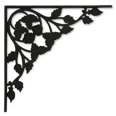black eyed susan cast iron shelf bracket cast iron shelf brackets iron shelf and black eyed susan