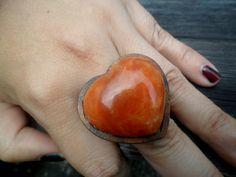 Lindo anel de madeira R$114,90
