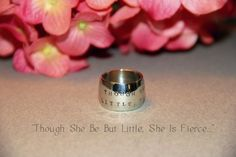 New Contemporary Domed Ring - Available at Dimples and Dragonflies! https://www.etsy.com/listing/197041821/domed-wide-band-ring-silver-ring-quote?ref=shop_home_active_2