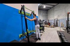 Home Gym Basement, Home Gym Garage, Gym Room At Home, Crossfit Garage Gym, Crossfit At Home, Home Made Gym, Diy Home Gym, Gym Workout Tips, Workout Rooms