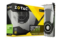 Zotac GeForce GTX 1070 Founders Edition 8GB GDDR5 Graphics Card