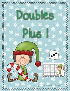 Doubles Plus One is a super way to practice mental math strategies. Students need to roll a die, double the number and add one. This activity makes a great work station and can be played with up to four players. For easy play use a dot die. For more of a challenge use a numeral die.