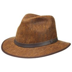 Mantoa Traveller Lederhut by Stetson