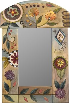 Small Mirror #pinturadecorativa