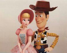 Toy Story 4 - Woody and Bo Peep Poster by on DeviantArt Walt Disney, Disney Couples, Disney Magic, Disney Family, Disney Animated Movies, Pixar Movies, Disney Memes, Disney Animation, Woody