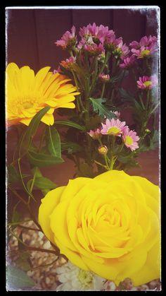 Up-cycled Jack Daniels Bottle : Flower Vase...