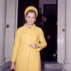 The beautiful Queen Paola while she was still a Princess in 1966.