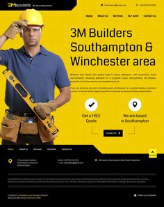 Building Services - 3M Builders - Professional builders -www.niceoneilike.com - #html5, #Responsive, #Design, #jQuery, #Inspiration, #Website, #Company Website Company, Building Companies, Responsive Web Design, Web Design Inspiration, Cool Websites, How To Plan, Live, Design Web, Tutorials