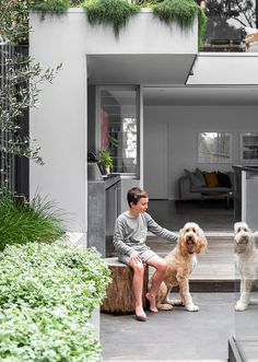 Concrete Bench, Side Wall, Modern Coastal, Australian Homes, Timber Flooring, Polished Concrete, Byron Bay, Coastal Homes, Exterior Paint