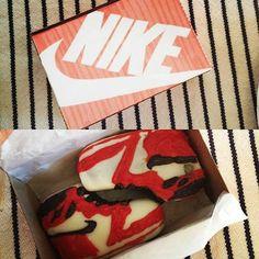 Jordan Cake Truffles with Custom Nike box