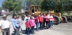 Obras - Pavimentación de un tramo de Cale Central de San Bernardo Tlalmimilolpan - H. Ayuntamiento de Tepetlaoxtoc