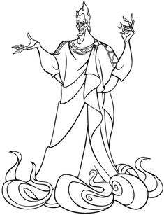 Free Printable Hercules Coloring Pages For Kids
