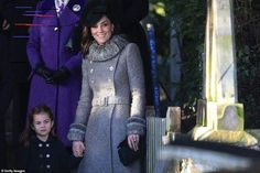 Catherine, Duchess of Cambridge and Princess Charlotte attend the Christmas Day Church service at Church of St Mary Magdalene on the Sandringham estate on December 2019 in King's Lynn, United Kingdom. Princess Beatrice, Princess Eugenie, Princess Anne, Princess Room, Duchess Of Cornwall, Duchess Of Cambridge, Duchess Kate, Duke And Duchess, Photos