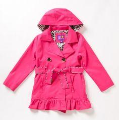 ♥ Girls Winter Pink Jacket wiTh Hoodie
