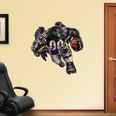 Fathead Baltimore Rampaging Raven Decal   Wall Sticker, Mural, U0026 Decal  Designs At Wall Sticker Outlet