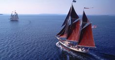 On a Maine Windjammer cruise, go where the wind takes you…