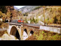 Cool and Gorgeous Tilt Shift Effect Video.. beautiful Switzerland scenes