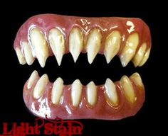 I need these for next Halloween to make my costume perfect! Gaul FX Fangs 2.0 Veneers by Dental Distortions