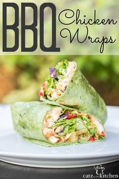 Barbecue Chicken Wraps (Red Robin Imitation) BBQ Chicken Wraps- imitation of Red Robin whiskey river BBQ chicken wrap Healthy Wraps, Good Healthy Recipes, Healthy Foods To Eat, Healthy Eating, Healthy Chicken Wraps, Yummy Wraps, Healthy Choices, Clean Eating, Grilled Chicken Wraps