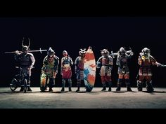 Seven Samurai Actions 2:00 Cup Noodle Official CM / カップヌードル宣伝: 「七人の侍 篇」 - YouTube