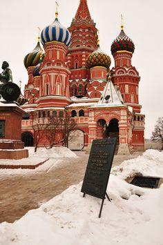 Basilius-Kathedrale, Roter Platz Moskau