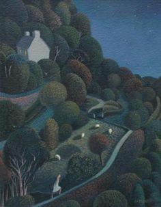 Jo March: Night Walk, Ivy Cottage.