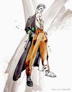 Ellie Rahim Illustration and Design: Tomboy BKLYN