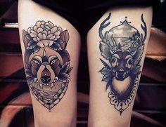 Aaron Ashworth Old School Tattoo
